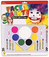 Large Clown Face Painting Makeup Set