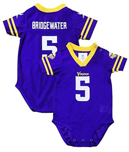 Outerstuff Teddy Bridgewater Minnesota Vikings #5 Purple Inf