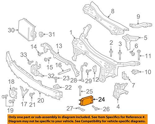 Mercedes Benz Genuine Rail Extension 213-620-16-00 by Mercedes Benz (Image #3)