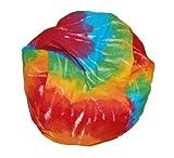 Ahh! Products Tie Dye Rainbow Bean Bag Chair for Dolls