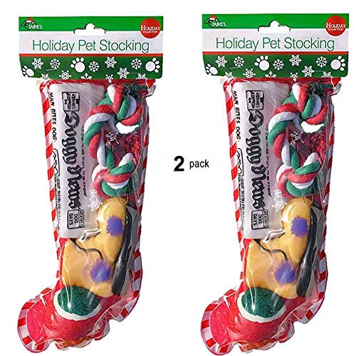 Christmas Stocking Dogs. Perfect Pack of 2 ()
