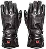 Warmawear Dual Fuel Burst Power Battery Heated Genuine Leather Gloves - 3 Settings (Small)