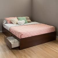 South Shore 60 Vito Mates Bed, Queen, Sumptuous Cherry