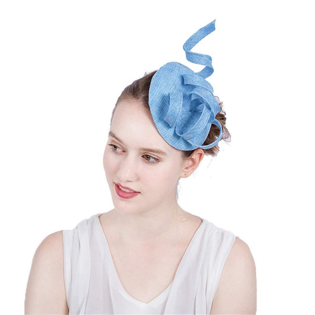 Imitation Sinamay Fascinators Hat for Women Kentucky Derby Bridal Hat Wedding Party Races Event Hats
