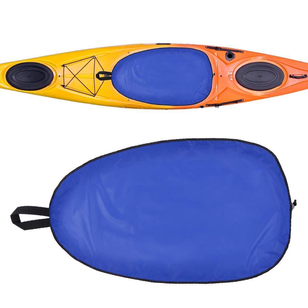 Coj/ín de Asiento de Kayak de Gran Tama/ño Cubierta Impermeable Anti-Polvo Kayak Nylon Cabina Walmeck