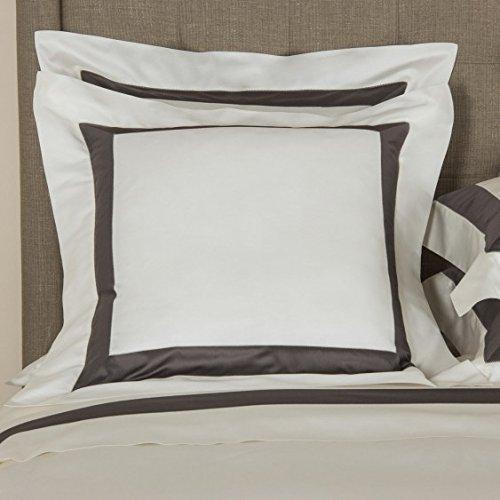 frette-bicolore-ivory-charcoal-euro-pillow-sham