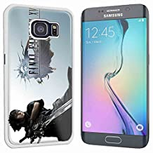 final fantaxy xv game poster for Samsung Galaxy S6 Edge White case