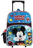 Cheap Disney Mickey Mouse 16″ Large Rolling Backpack
