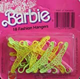 Barbie 18 Fashion Hangers (1984 Mattel Hawthorne)