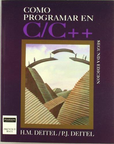 Como Programar En C por DEITEL
