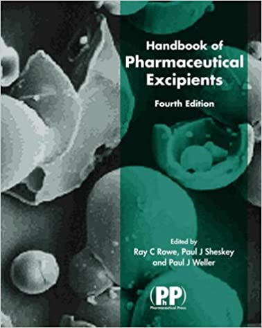 Handbook Of Pharmaceutical Excipients Pdf