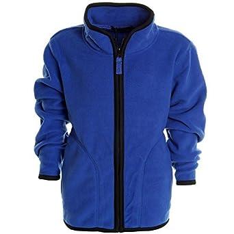 Jungen Kinder Fleece Jacke Pullover T Shirt Langarm Sweat
