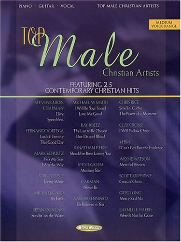 Download Top Male Christian Artists: Featuring 25 Contemporary Christian Hits pdf