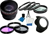 Best Value! Profession Lens Kit For The Canon SX30IS SX30 IS SX40HS SX40 HS ....