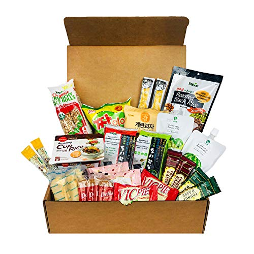 Jayone Korean Snack Box Variety Assortment of Japanese Candy, Korean Snacks and More! | College Care Package | Gift Care Package (30 Count) (Best Food Gifts From Dc)