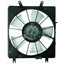 DEPO 327-55005-100 Replacement Engine Cooling Fan Assembly (This product is an aftermarket product. It is not created or sold by the OE car company)