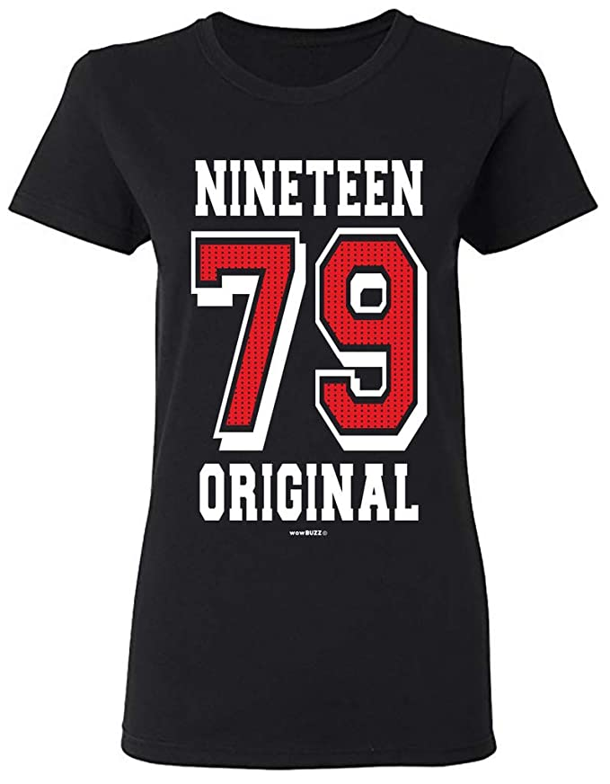 40th Birthday Gifts 40 cumpleaños Mujer Original 1979 Camiseta