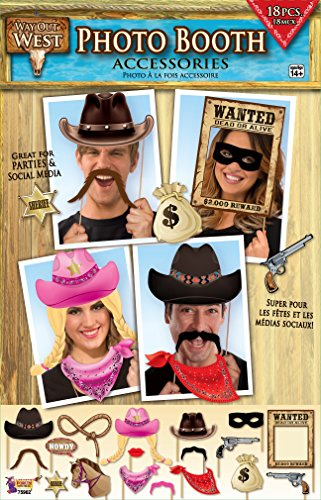 Photo Booth Accessory - Way out West Western Theme (Grown Up Party Themes)