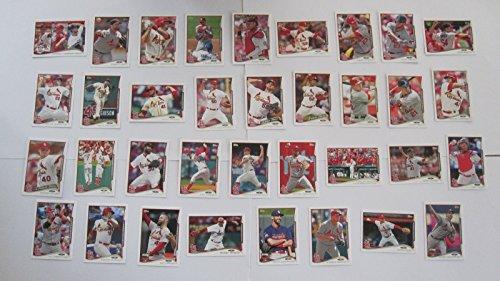 2014 Topps St. Louis Cardinals (Wolten, Taveras RC) 34 ca...