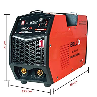 iBELL 220-78 Inverter ARC Multi Metal (SS/IRON/CARBON STEEL/COPPER/ALUMINIUM/ZINC) Welding Machine (IGBT) 220A - 1 Year Warranty 11