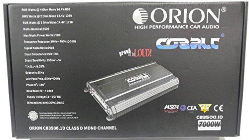 Series 1600 Watt Mono Amplifier - 5