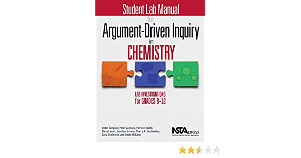 Student Lab Manual for Argument-Driven Inquiry in Chemistry: Lab  Investigations for Grades 9-12
