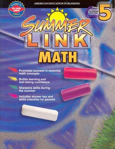 Summer Link Math (Summer Before Gr. 5)