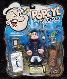 Popeye the Sailorman Mezco Toyz Peacoat Popeye Action Figure