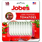 Jobes 06000 Tomato Fertlizer 6-18-6 Spikes, Pack of 18