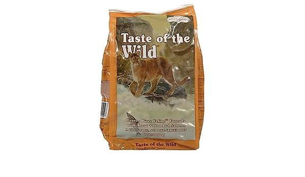 Taste of the Wild Sabor de la Wild Cat Food: Amazon.es: Productos para mascotas