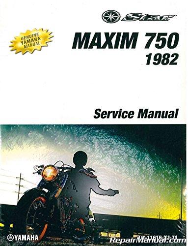 LIT-11616-XJ-71 1982 Yamaha XJ750 Maxim Service Manual - Yamaha Xj750 Maxim
