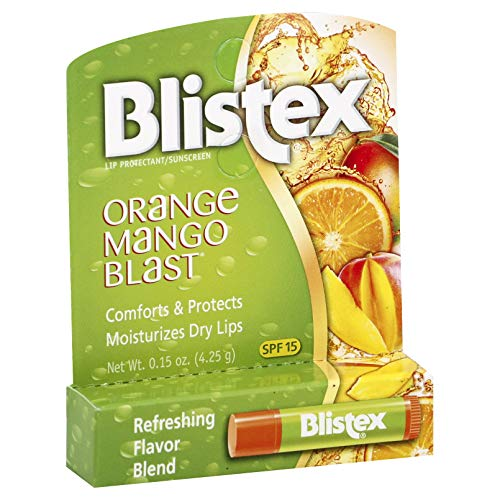 Blistex Orange Mango Blast Lip Balm, 0.15 Ounce (Pack of 24) (Fruit Blast Mango)