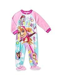 PAW PATROL SKYE Girl's 4T Fleece Footed Blanket Pajama Sleeper