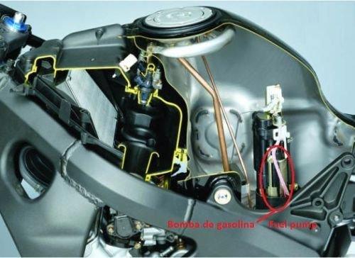 Pompe /à essence carburant CBR 929 954 RR Fireblade Fuel Pump Motor EFI