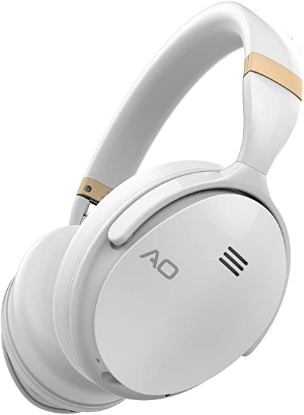 AO Active Noise Cancelling Wireless Bluetooth Headphones Over-Ear – M5