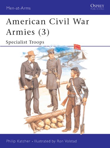 American Civil War Armies (3): Specialist Troops: No.3 (Men-at-Arms)