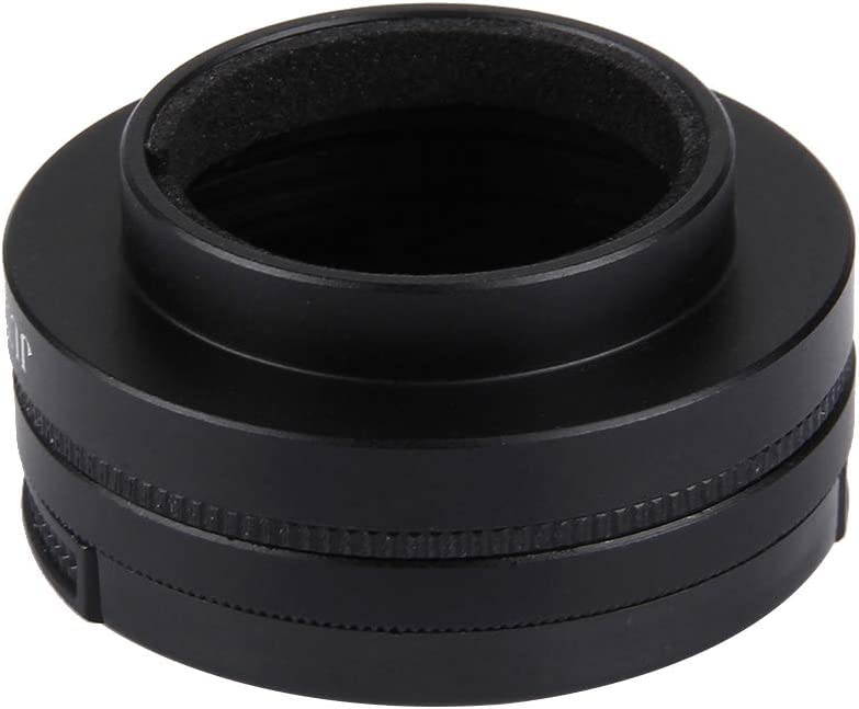 Lens Protective Cap Ychaoya Lens Accessories JUNESTAR for Xiaomi Xiaoyi Yi II 4K Sport Action Camera Proffesional 37mm CPL Filter