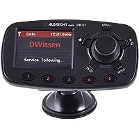 "Albrecht DR 57 87.6-107.9MHz Bluetooth Negro - Transmisor FM (87,6-107,9 MHz, LCD, 6,1 cm (2.4""), Bluetooth, Encendedor de Cigarrillos, CC, 12-24)"