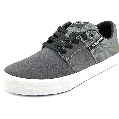 Supra Stacks Vulc II, Sneakers da Uomo Charcoal - White