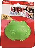 KONG Tuff 'N Lite Frog Dog Toy, Small
