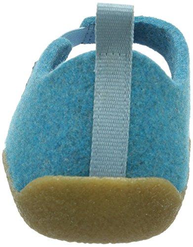 Dr. Brinkmann 340138, Women's Cold lined low house shoes Blue - Blau (Hellblau)