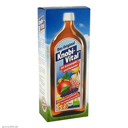 KNOBIVITAL mit Granatapfel+Holunder Bio 960 ml Flaschen