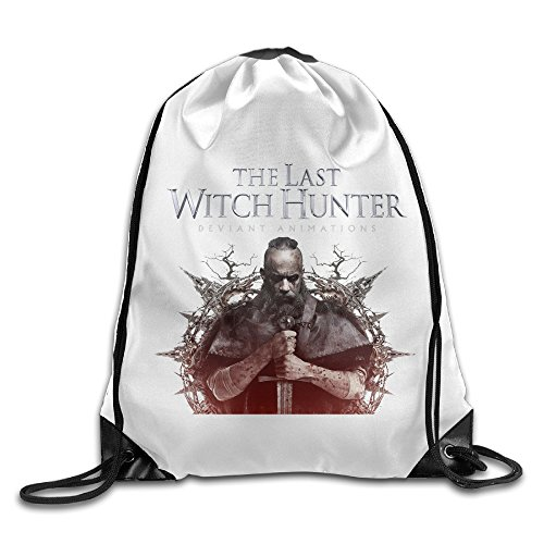 Zhanzy The Last Witch Hunter Large Drawstring Sport Backpack Sack Bag Sackpack