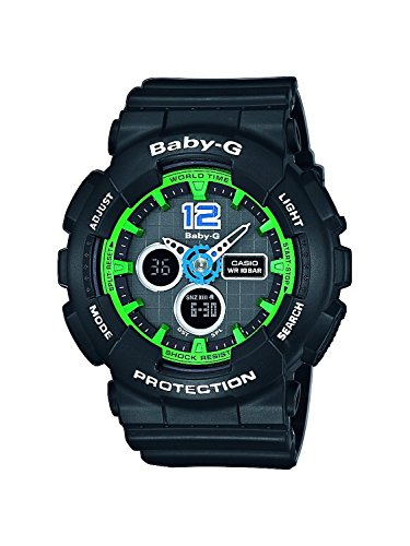 Casio BA-120-1BER - Women's Watch, Resin, Black Tone