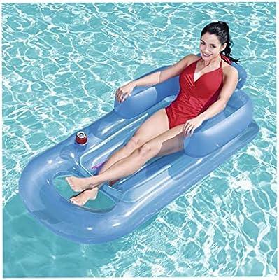 Ylicor doble almohada flotante anillo inflable flotante fila ...