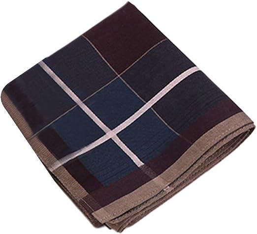 Yanhonin - Pañuelo de algodón para Hombre, 43 x 43 cm, diseño ...