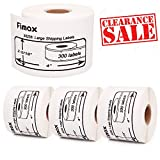 Fimax Compatible DYMO Authentic LW Standard Shipping Labels for LabelWriter Label Printers, White, 2-5/16'' x 4'' (30256)