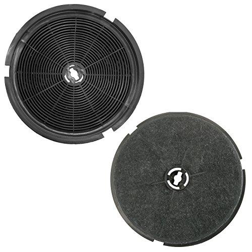 Due Carbonio Carbone Cappa Filtri Per B/&Q CATA Designair Cooke /& Lewis