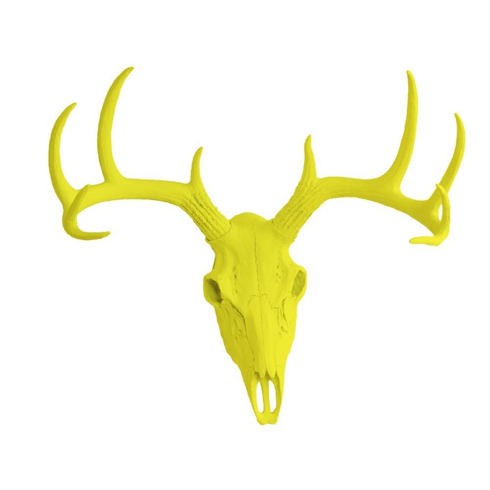 Amazon.com: Wall Charmers Large Faux Deer Skull | Room Decor Wall ...