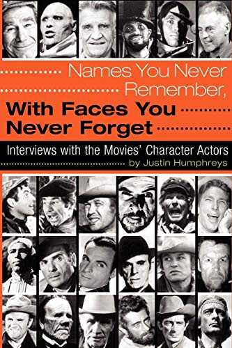 - Names You Never Remember, with Faces You Never Forget